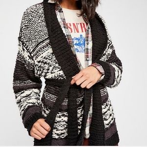 New Free People Cozy Cabin Cardigan Size Small